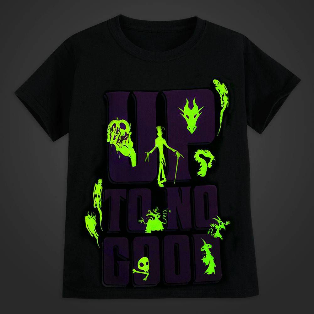 Disney Villains Glow-in-the-Dark T-Shirt for Kids