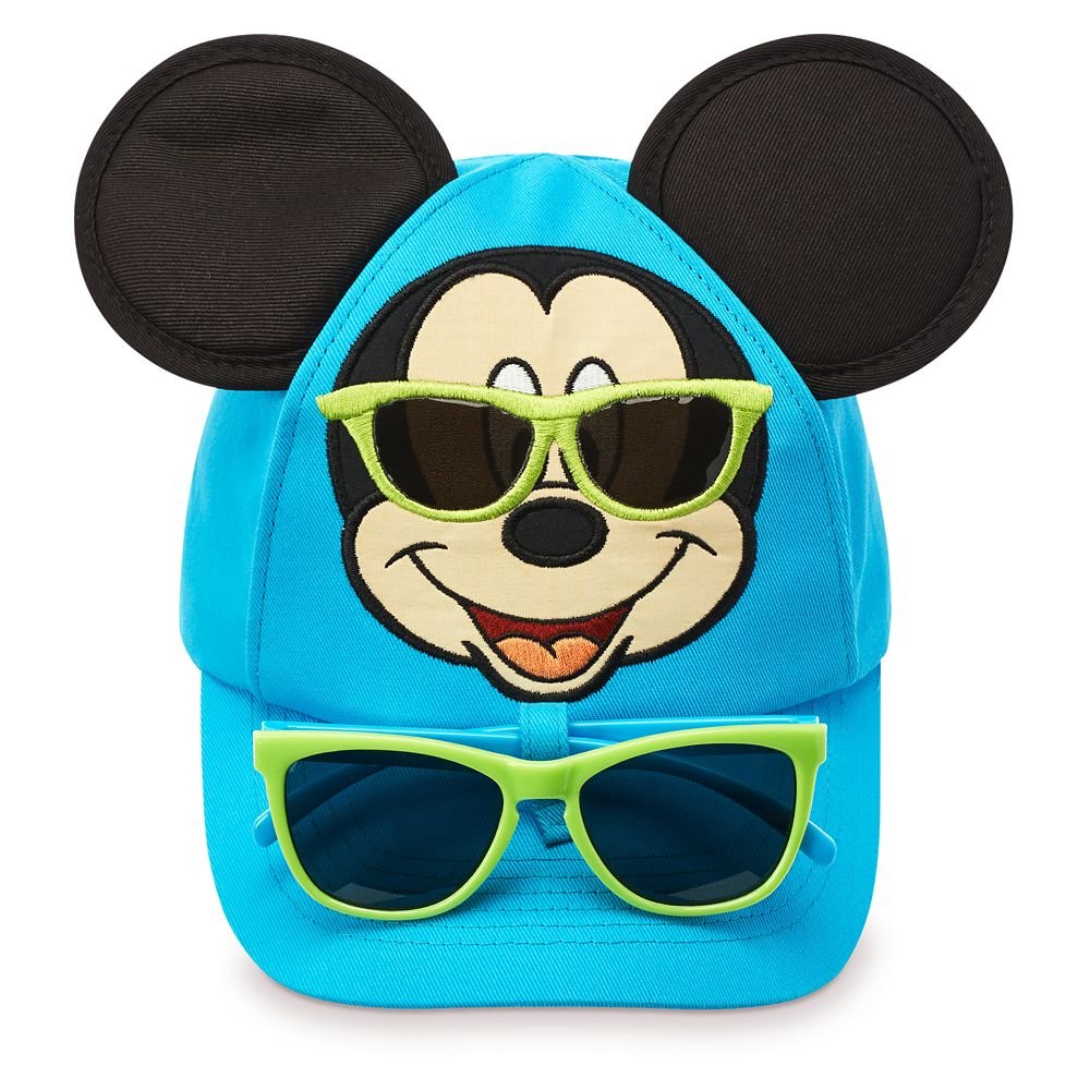 Mickey Mouse Baseball Cap and Sunglasses for Toddlers – Disneyland