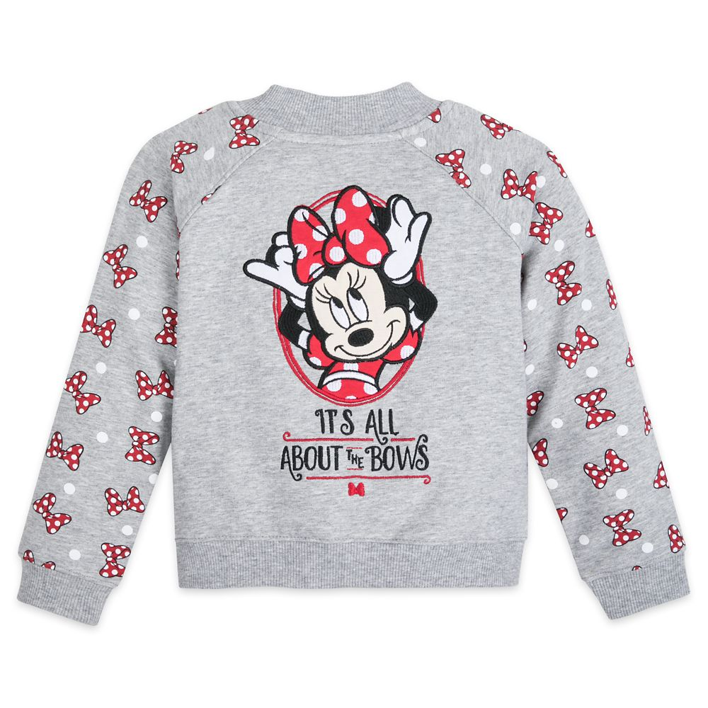 Minnie Mouse ''It's All About the Bows'' Jacket for Toddlers – Walt Disney World