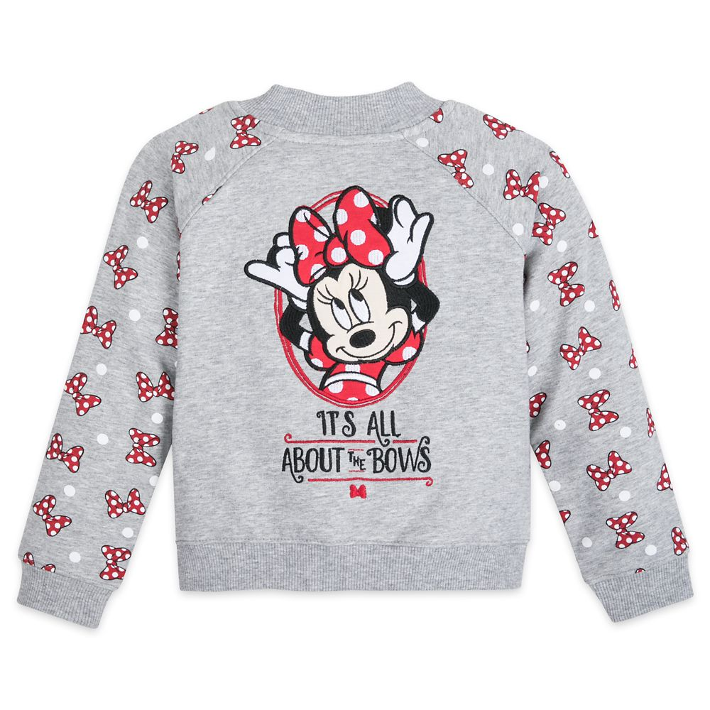 Minnie Mouse ''It's All About the Bows'' Jacket for Toddlers – Disneyland