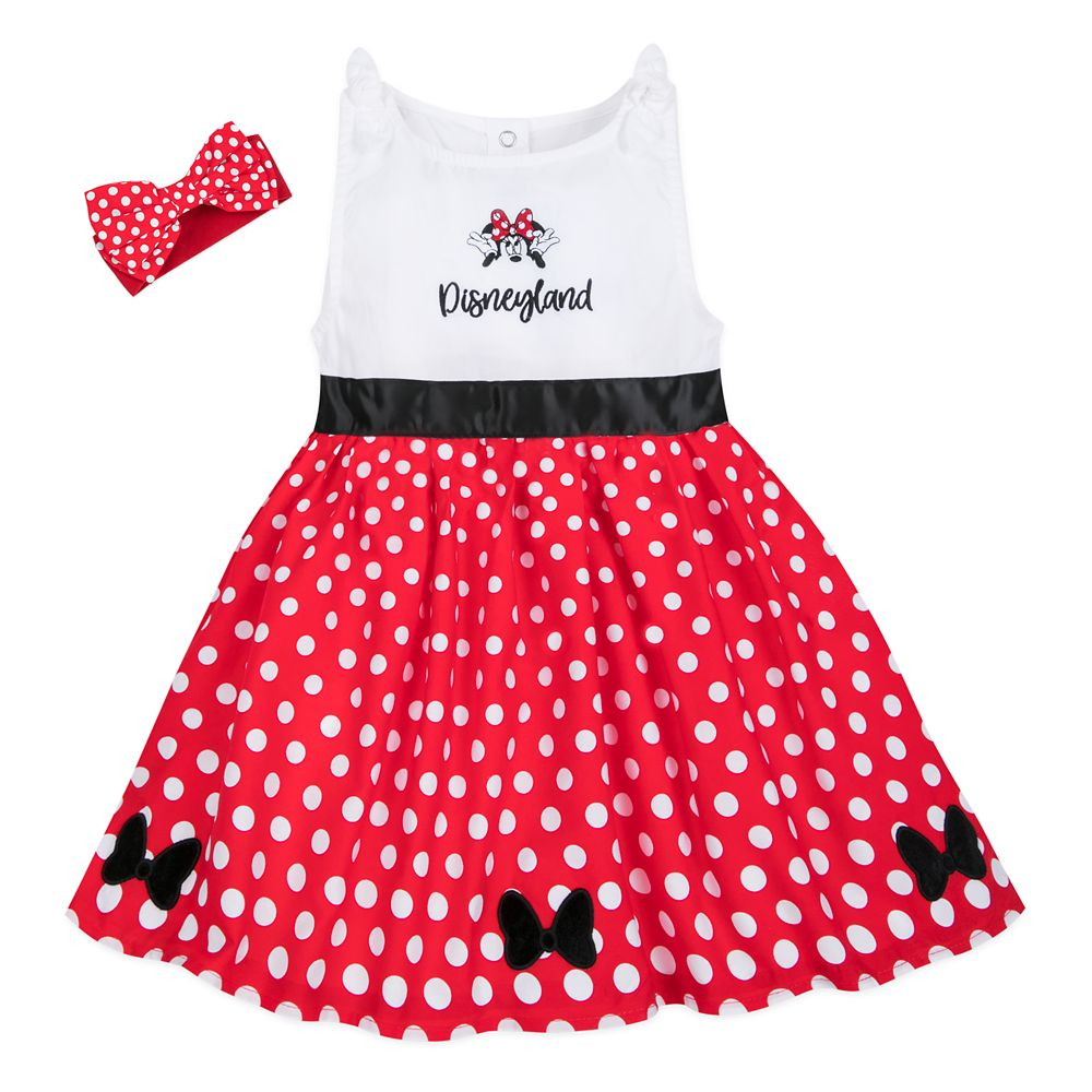 Minnie Mouse Dress Set for Toddlers – Disneyland