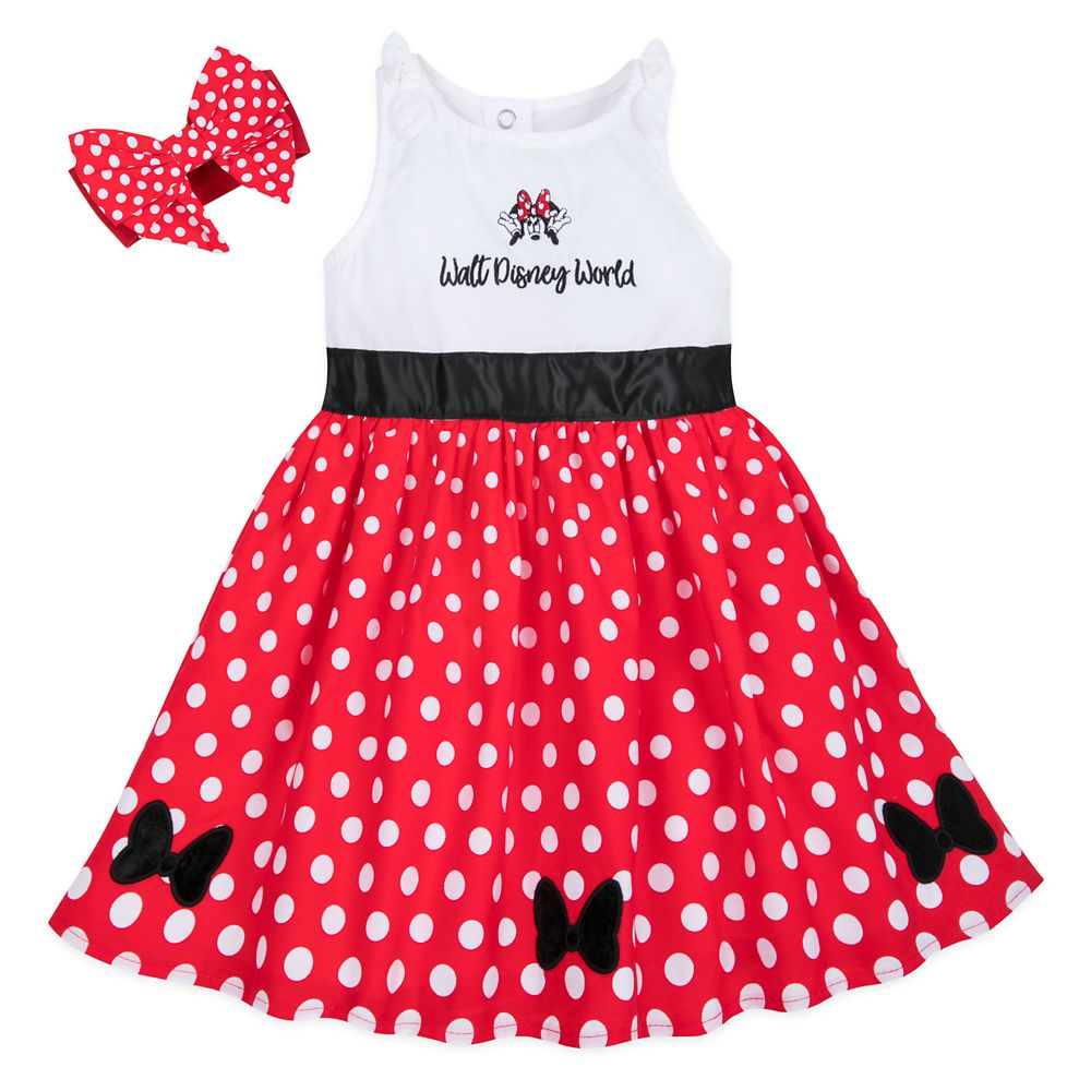 Minnie Mouse Dress Set for Baby – Walt Disney World