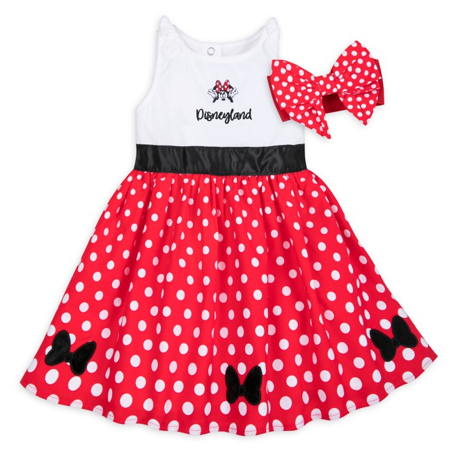 Minnie Mouse Dress Set for Baby – Disneyland