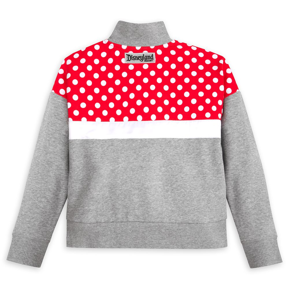 Minnie Mouse Zip Pullover for Girls – Disneyland