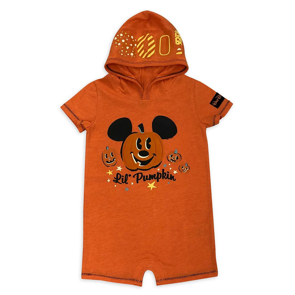 Mickey Mouse Halloween Pumpkin Bodysuit for Baby  Walt Disney World