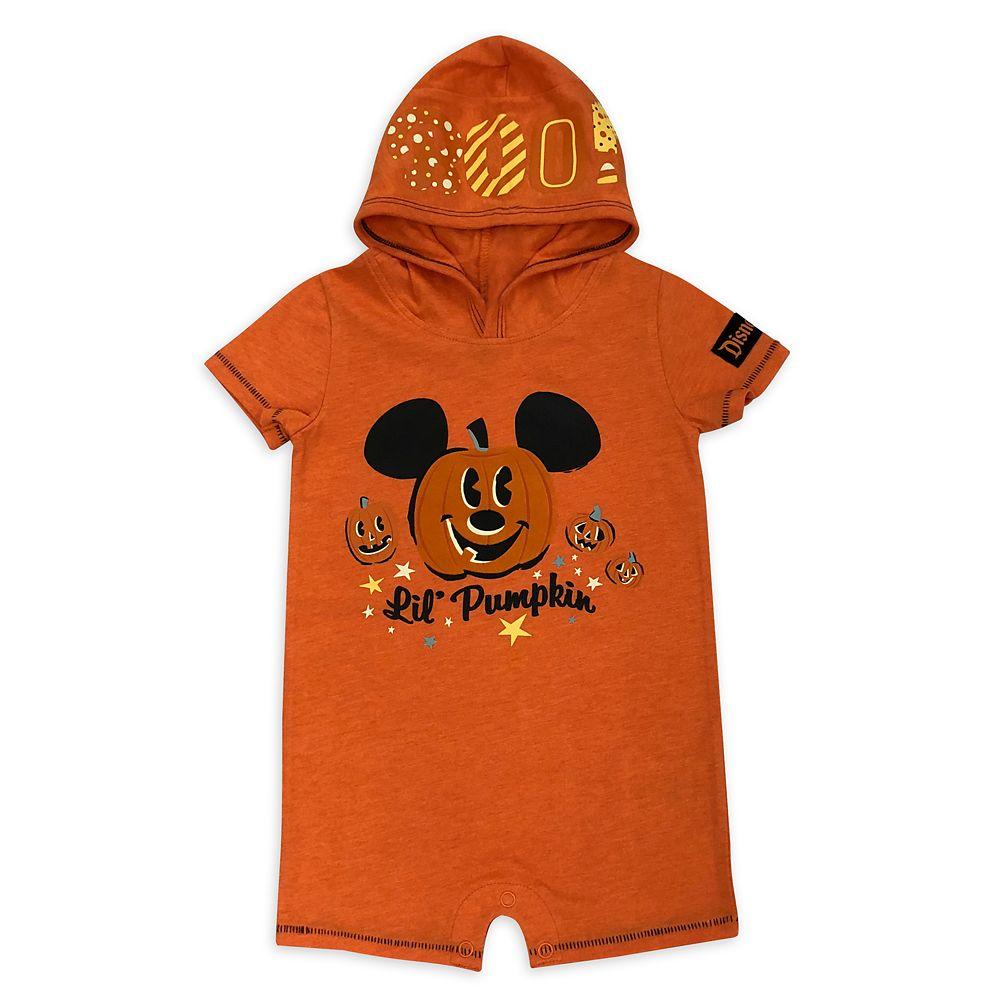 Mickey Mouse Halloween Pumpkin Bodysuit for Baby – Disneyland