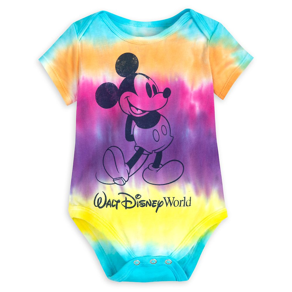 Mickey Mouse Tie-Dye Bodysuit for Baby – Walt Disney World