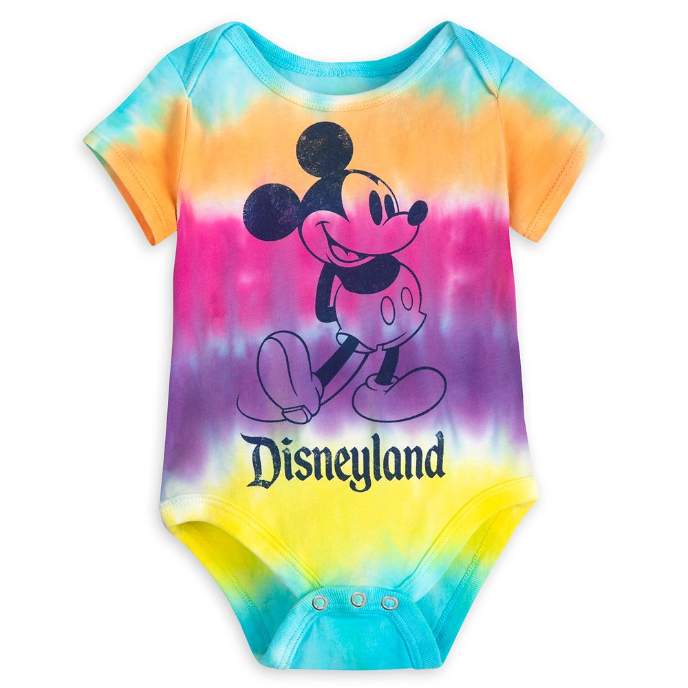 Mickey Mouse Tie-Dye Bodysuit for Baby – Disneyland