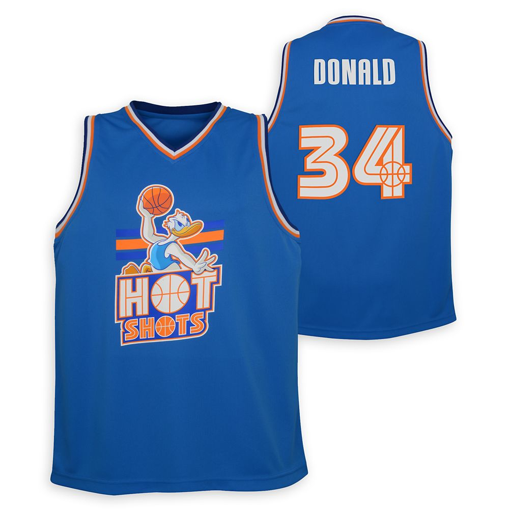 Donald Duck Hot Shots Basketball Jersey for Kids – NBA Experience