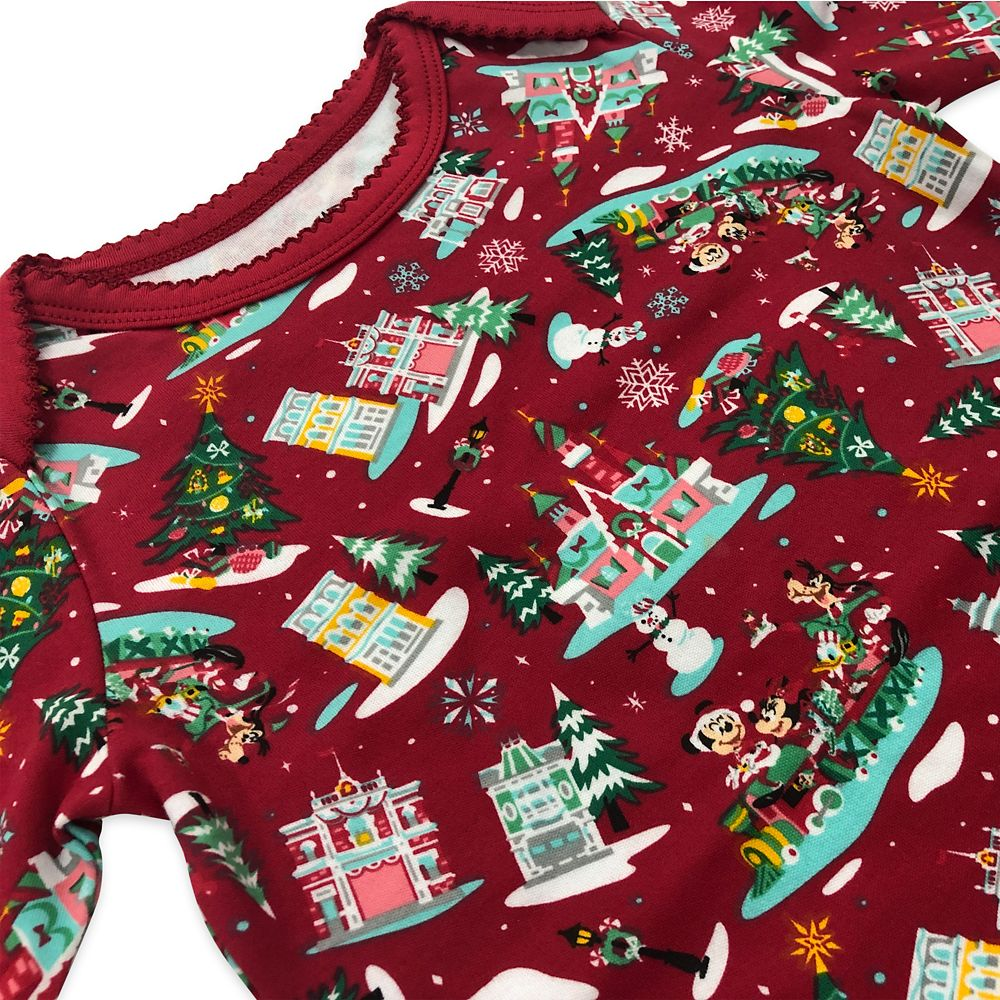 Mickey Mouse and Friends Holiday Bodysuit Set for Baby