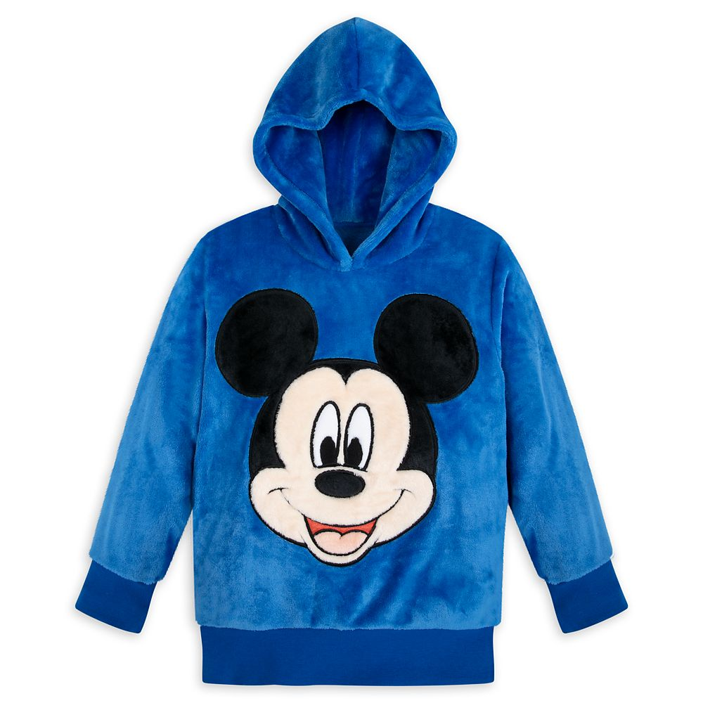 Mickey Mouse Pullover Fleece Hoodie for Kids