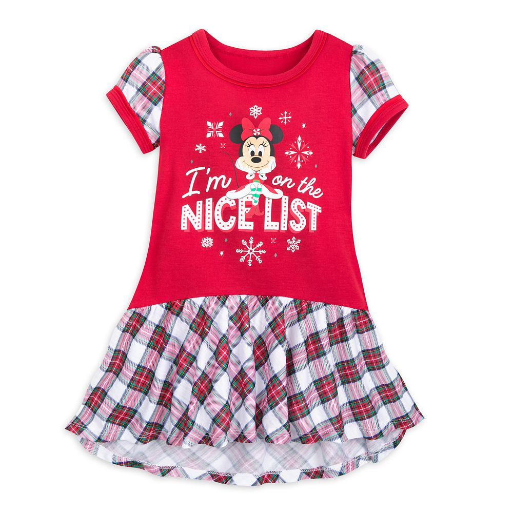 Minnie Mouse Holiday Nightshirt for Girls
