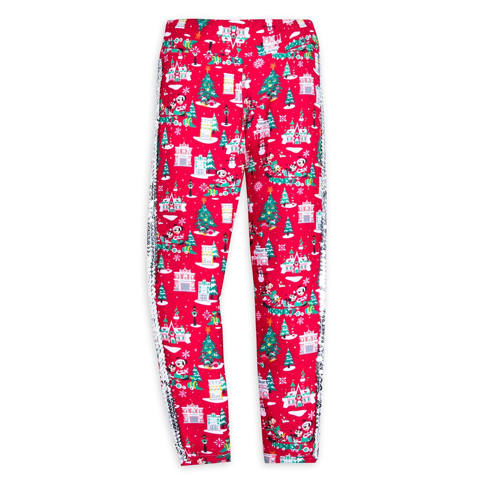 Mickey Mouse and Friends Holiday Leggings for Girls