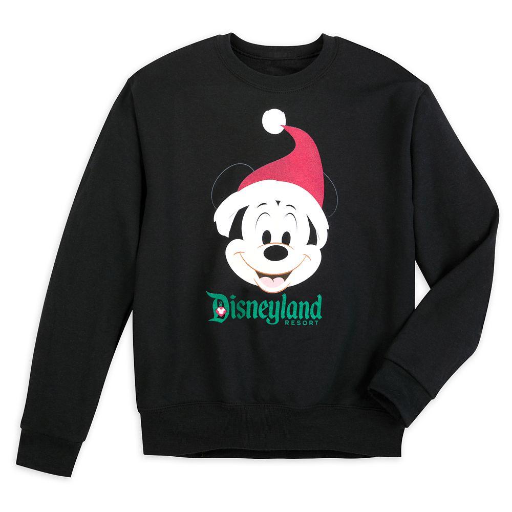 Santa Mickey Mouse Holiday Sweatshirt for Kids – Disneyland