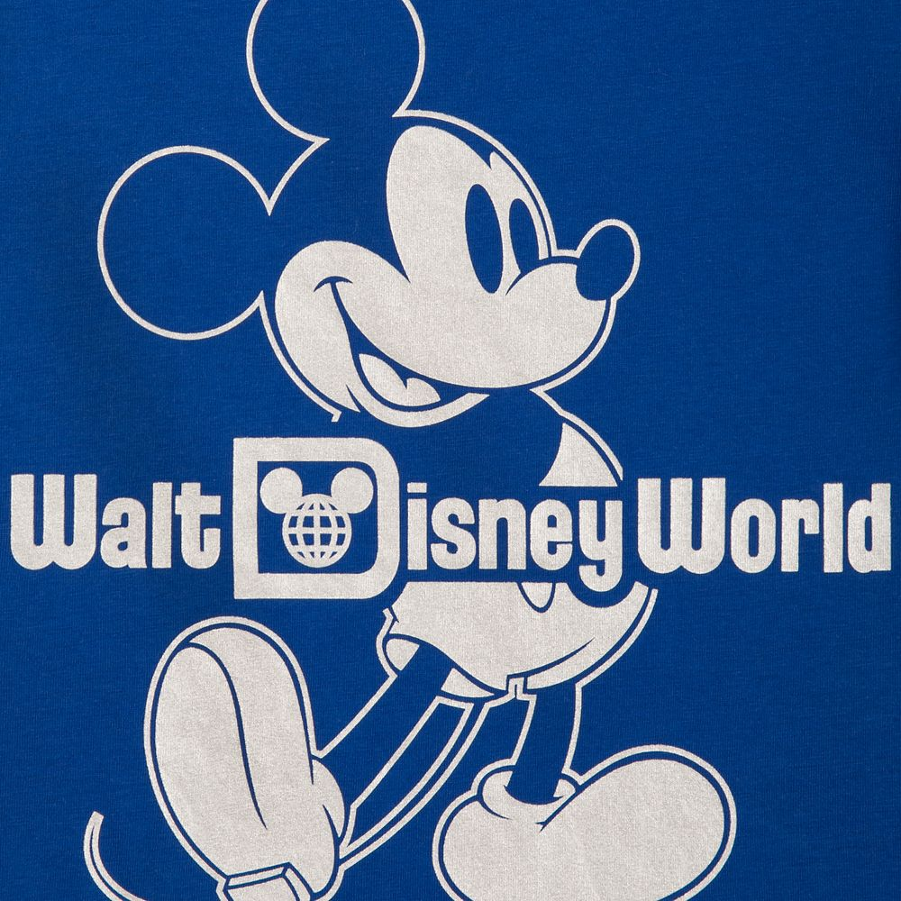 Mickey Mouse Classic Ringer T-Shirt for Kids – Walt Disney World – Wishes Come True Blue