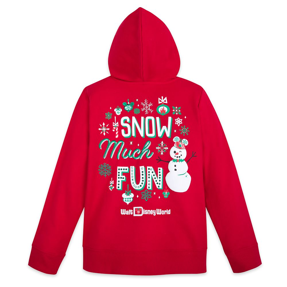 Mickey and Minnie Mouse Holiday Hoodie for Girls – Walt Disney World