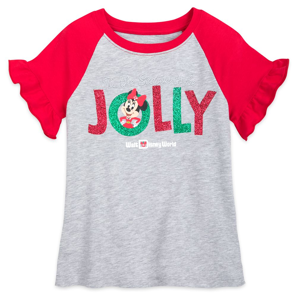 Minnie Mouse ''Jolly'' T-Shirt for Girls – Walt Disney World
