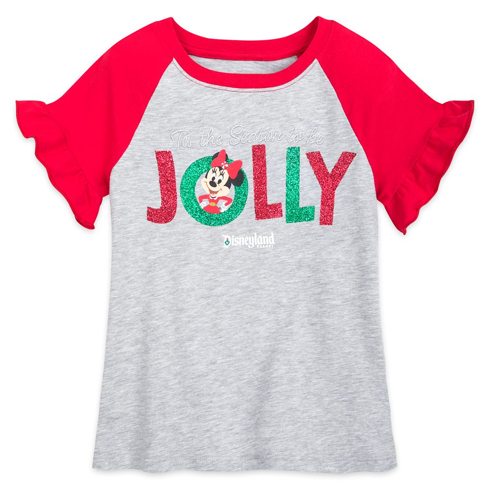 Minnie Mouse ''Jolly'' T-Shirt for Girls – Disneyland