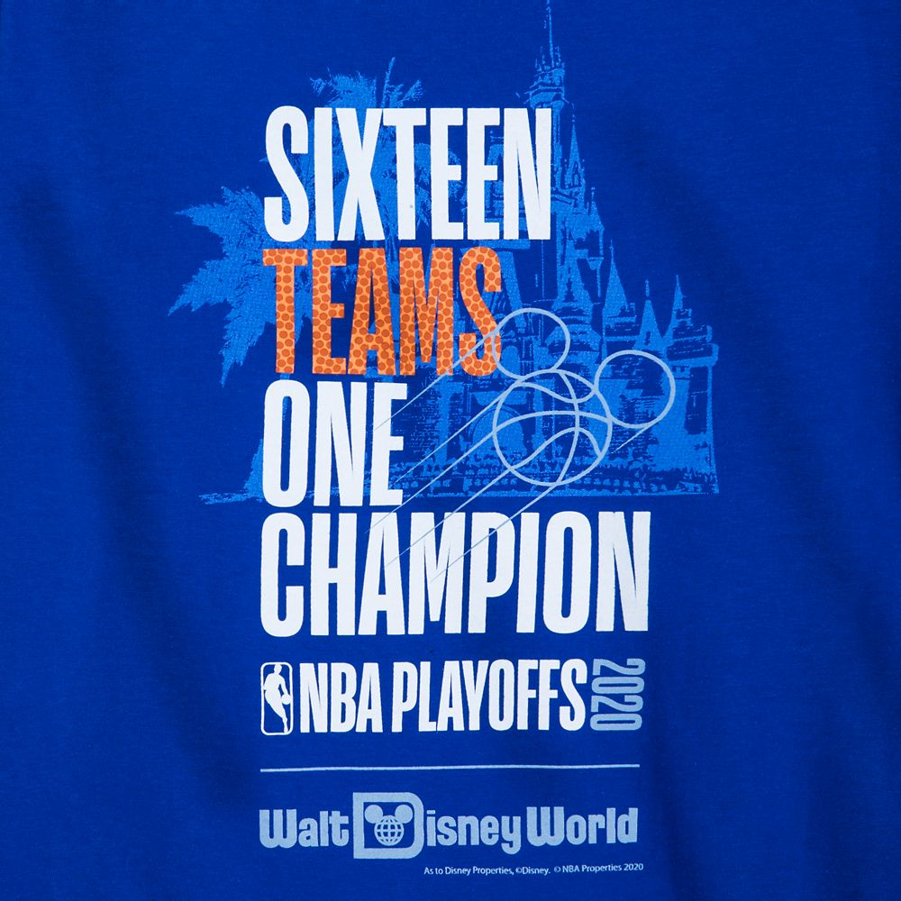 ''Sixteen Teams, One Champion'' T-Shirt for Kids – NBA Experience