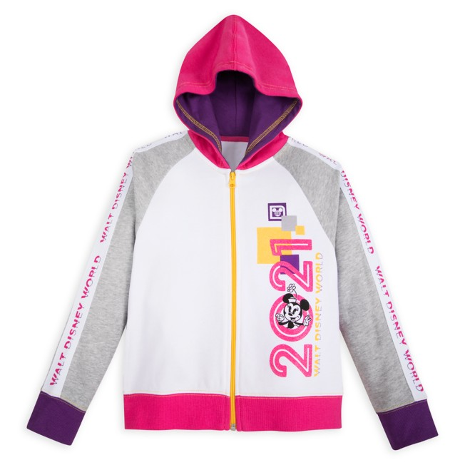 Minnie Mouse and Friends Zip Hoodie for Girls – Walt Disney World 2021