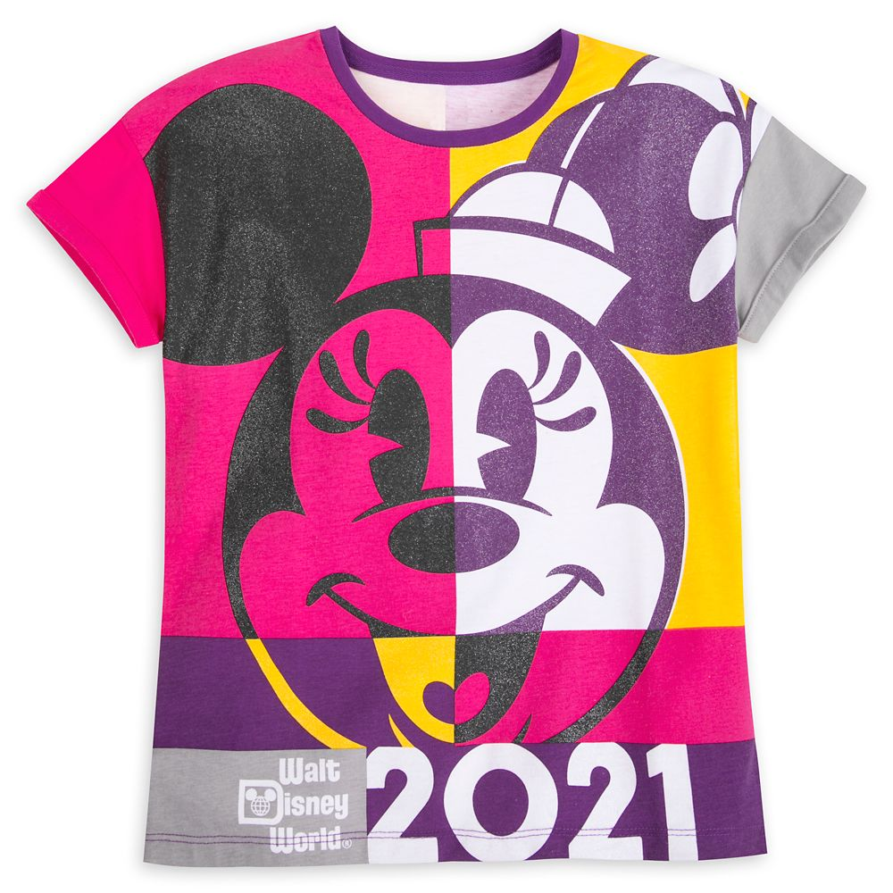 Minnie Mouse Fashion T-Shirt for Girls – Walt Disney World 2021