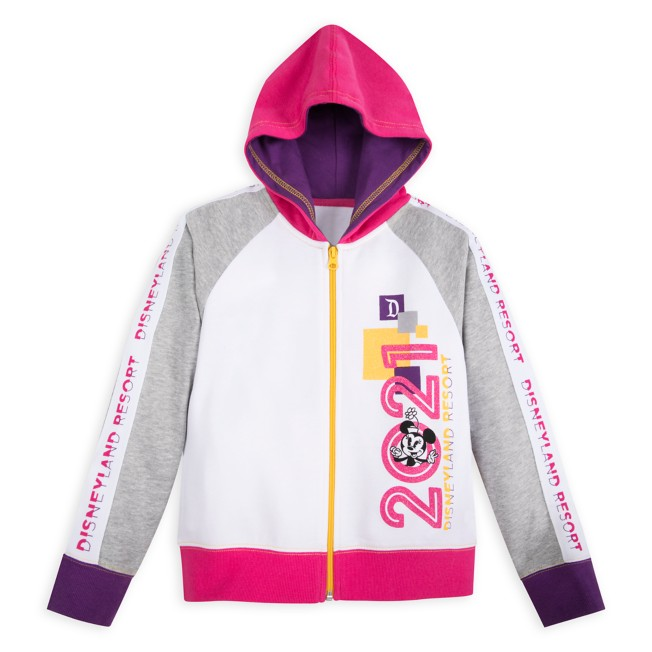 Minnie Mouse and Friends Zip Hoodie for Girls – Disneyland 2021