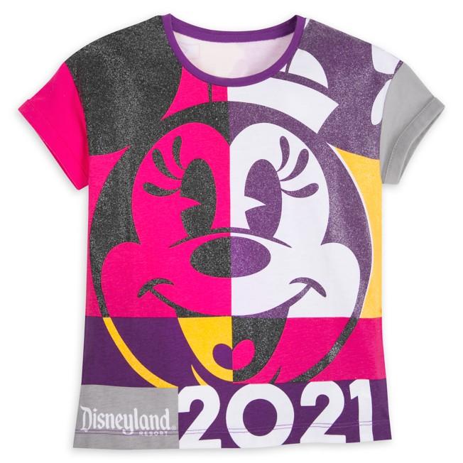 Minnie Mouse Fashion T-Shirt for Girls – Disneyland 2021