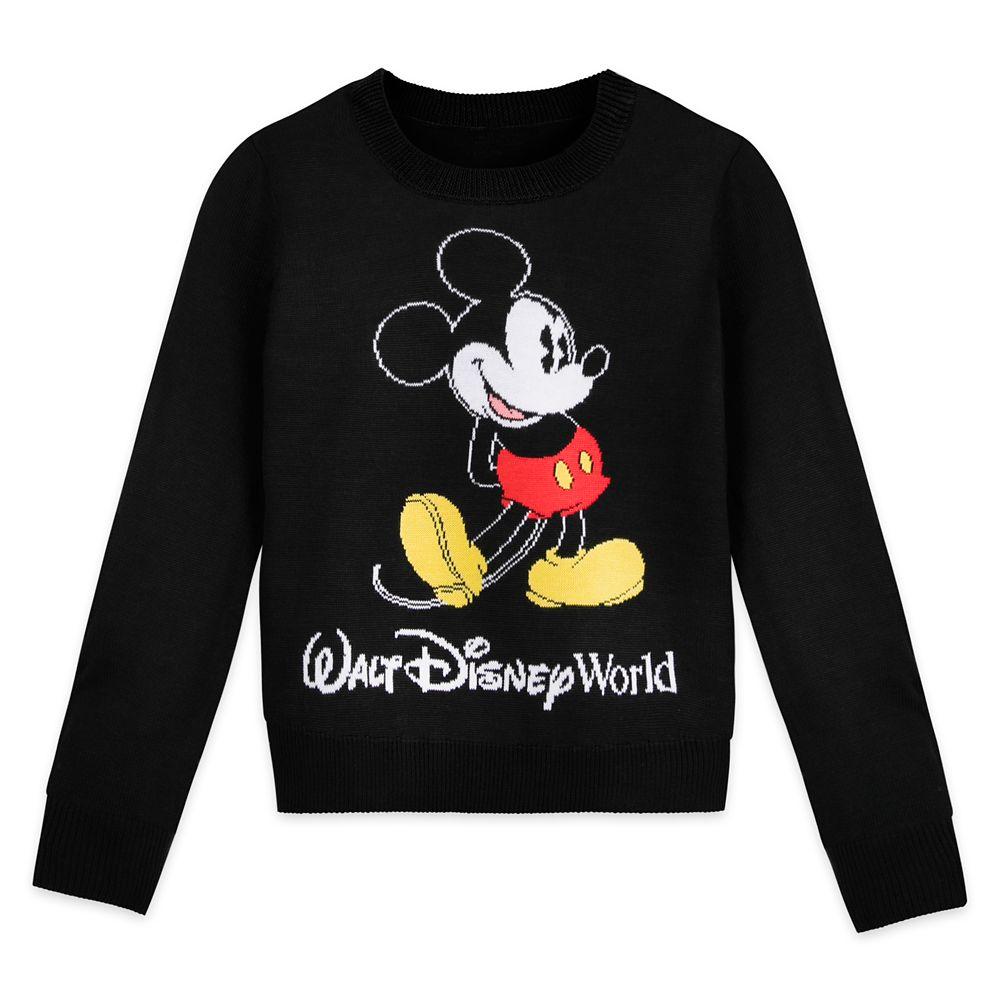 Mickey Mouse Knit Sweater for Girls – Walt Disney World