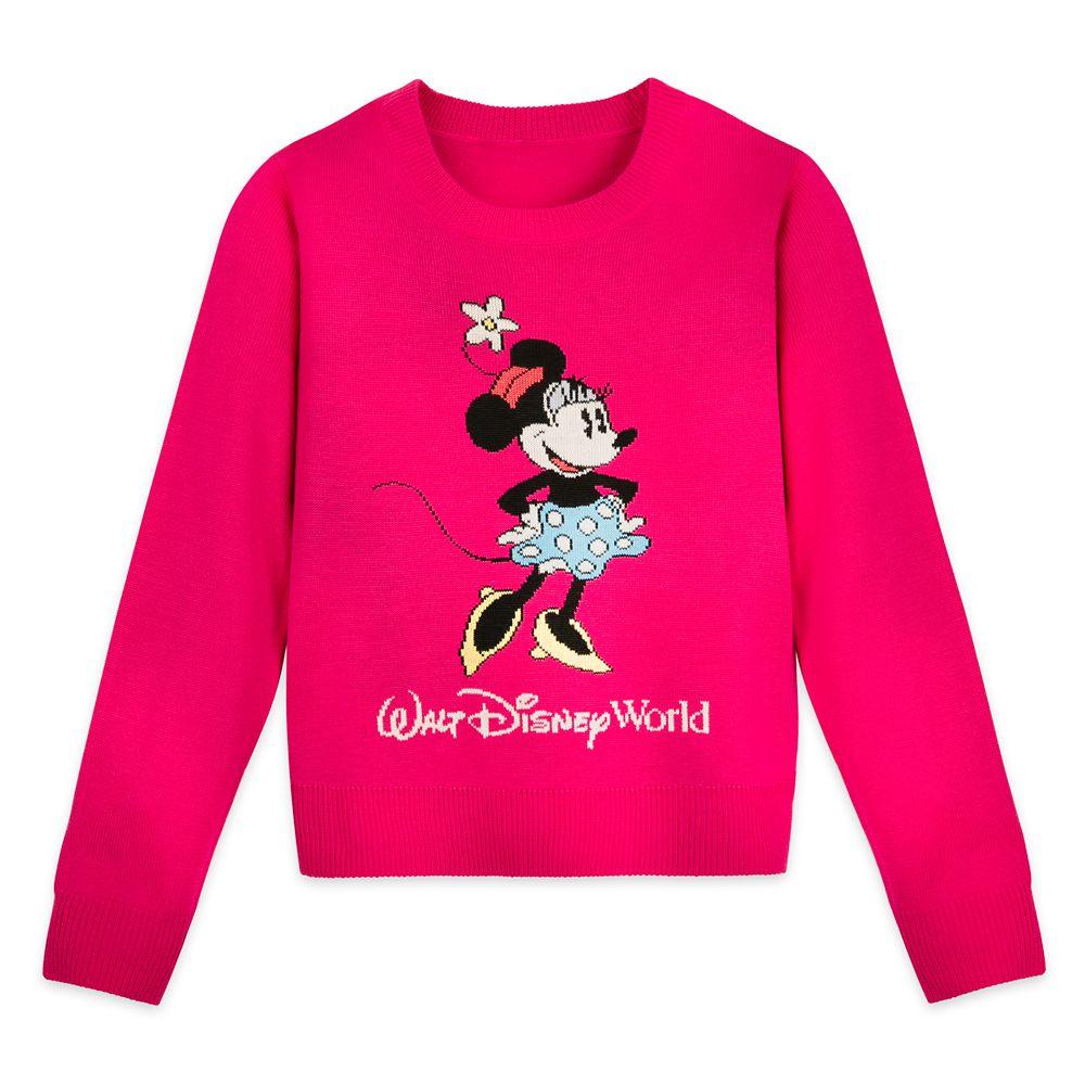 Minnie Mouse Knit Sweater for Girls – Walt Disney World