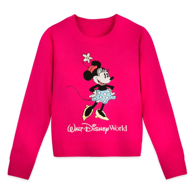 Minnie Mouse Knit Sweater for Girls – Walt Disney World