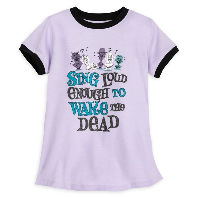 Singing Busts Ringer T-Shirt for Girls – The Haunted Mansion