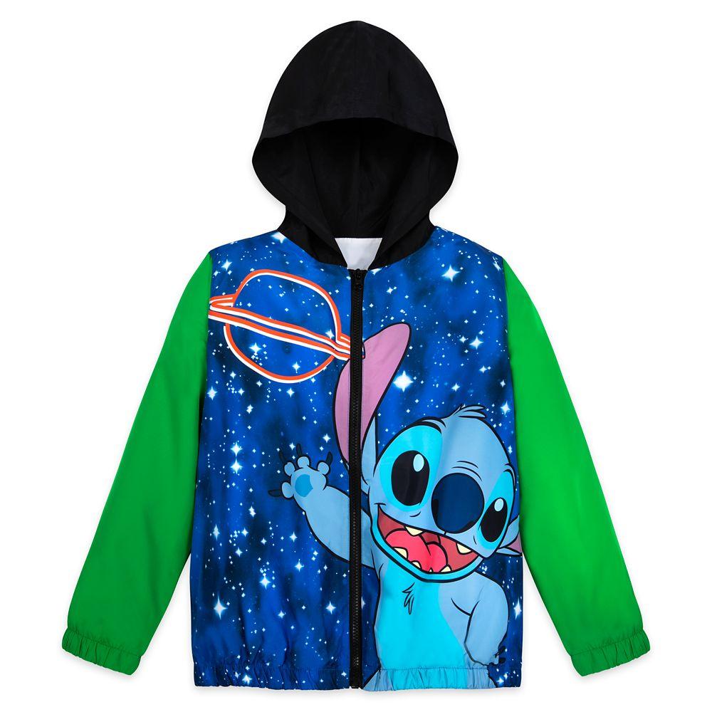 Stitch Windbreaker Jacket for Kids