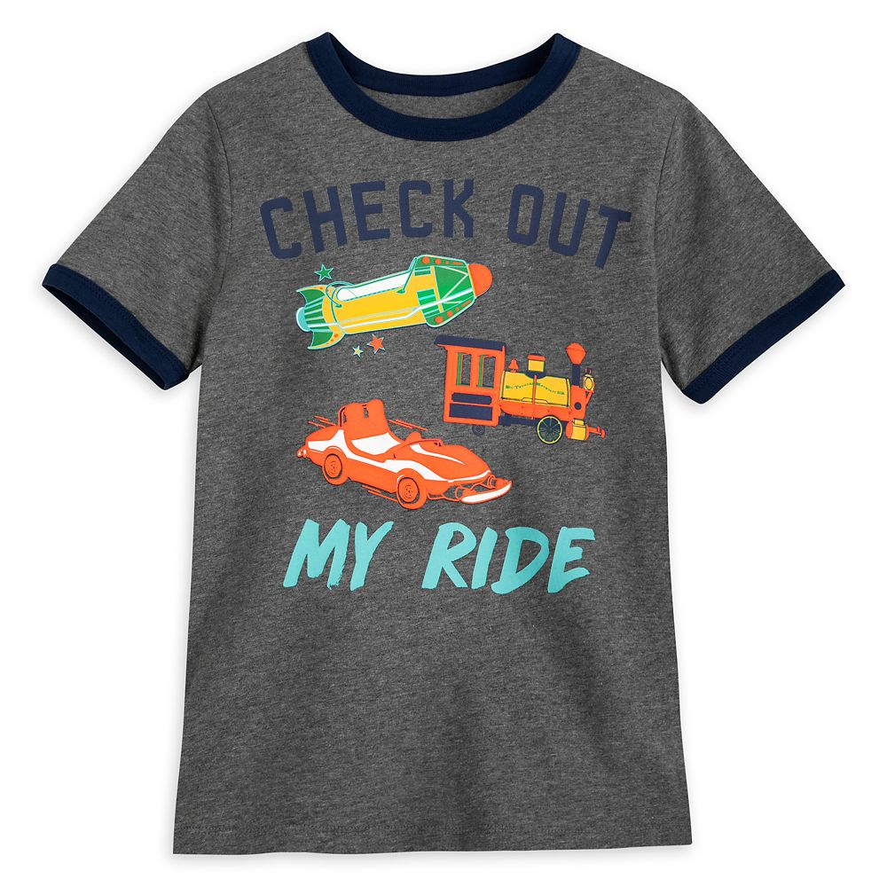 Disney Parks Attractions Ringer T-Shirt for Boys