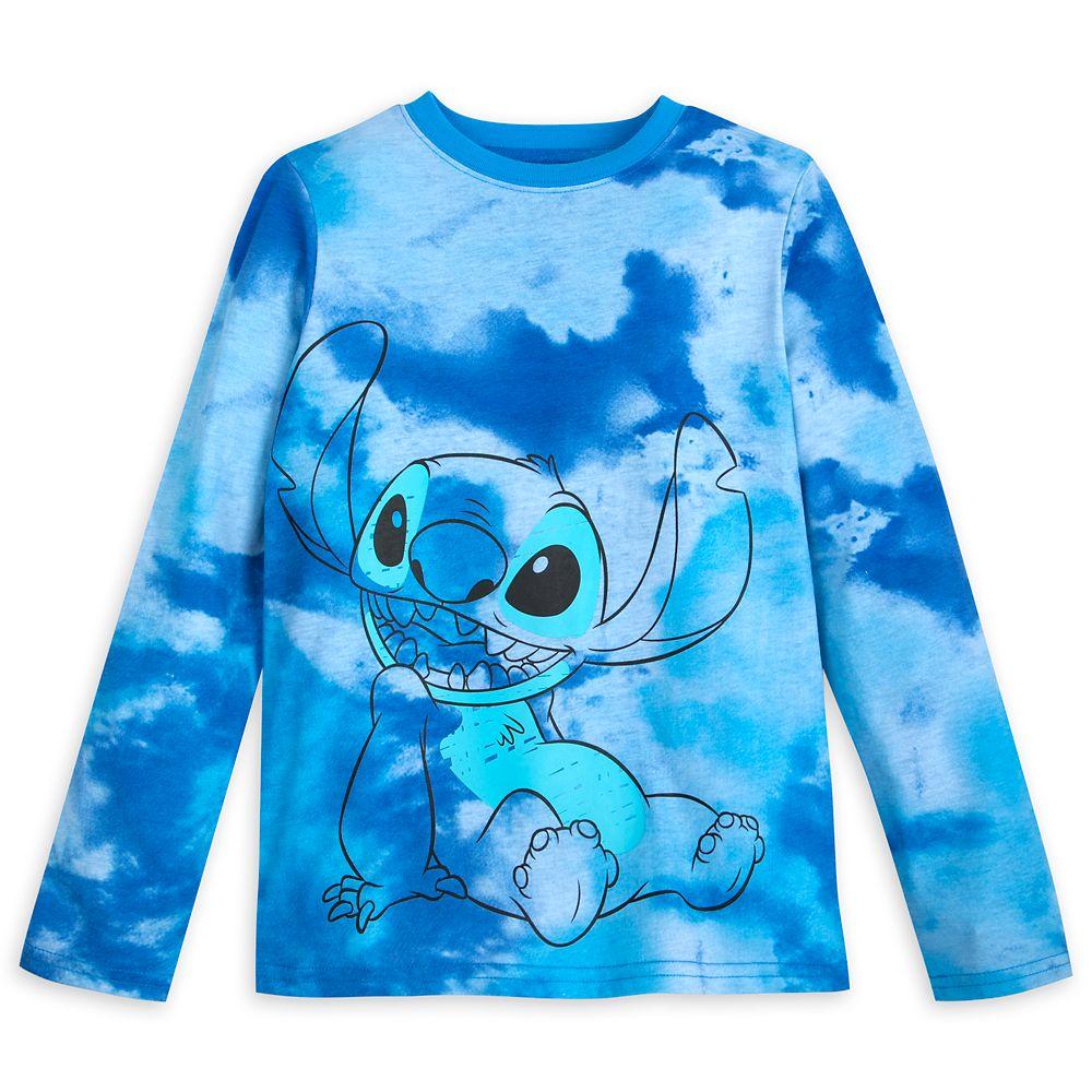 Stitch Tie-Dye Long Sleeve T-Shirt for Boys – Lilo & Stitch