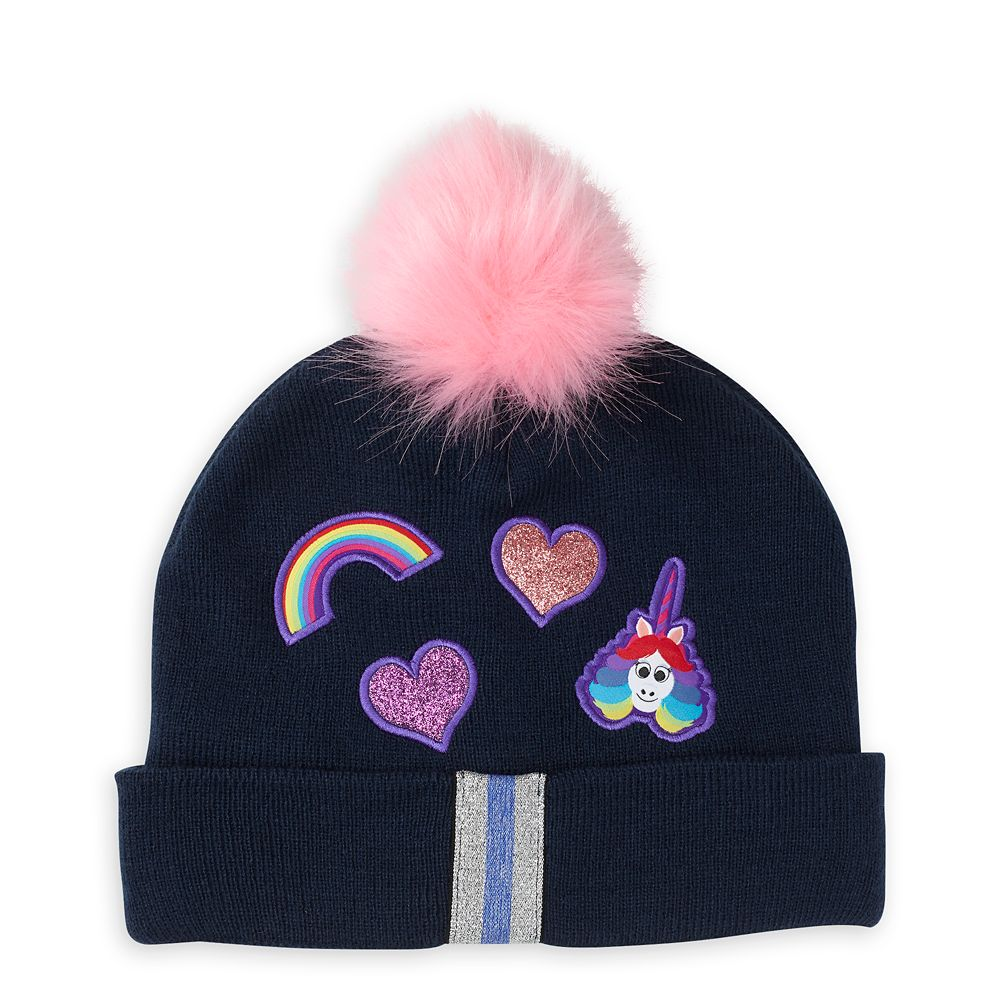 Rainbow Unicorn Beanie for Kids – Inside Out