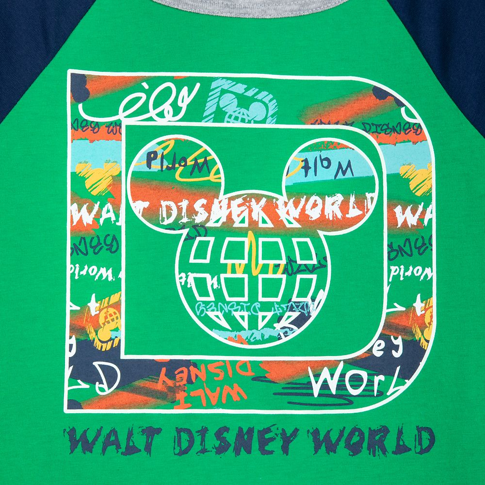 Walt Disney World Raglan T-Shirt for Boys