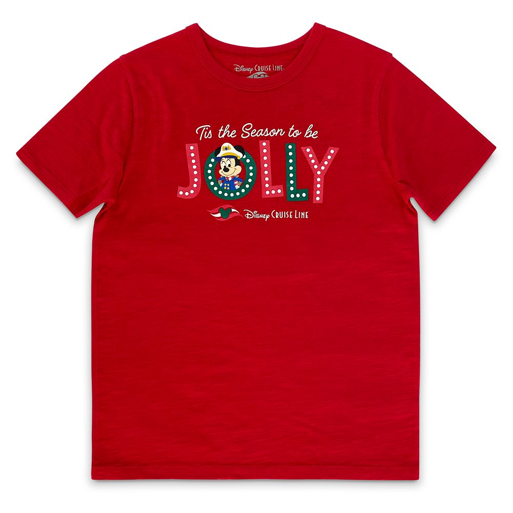 Disney Cruise Line Holiday T-Shirt for Kids
