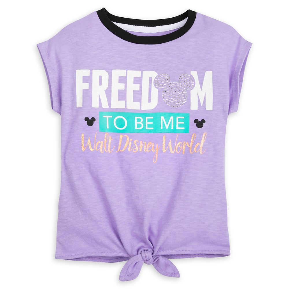 Mickey Mouse Icon ''Freedom to Be Me'' T-Shirt for Kids – Walt Disney World