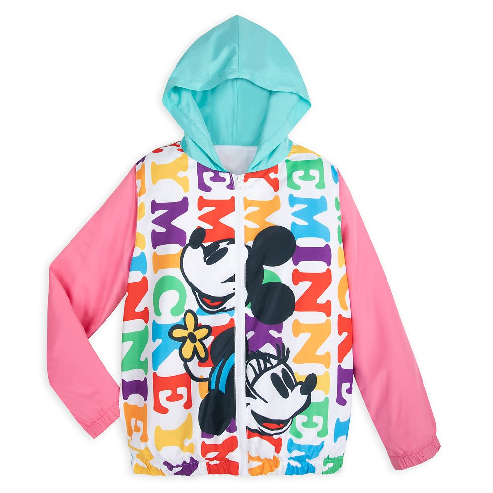 Mickey and Minnie Mouse Windbreaker for Kids ? Walt Disney World
