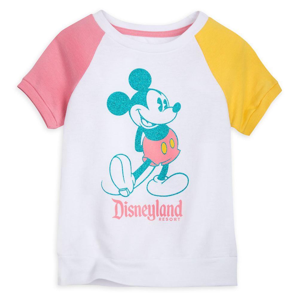 Mickey Mouse Raglan T-Shirt for Girls – Disneyland
