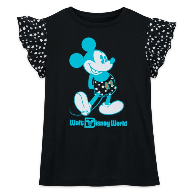 Mickey Mouse Wing Sleeve T-Shirt for Girls – Walt Disney World