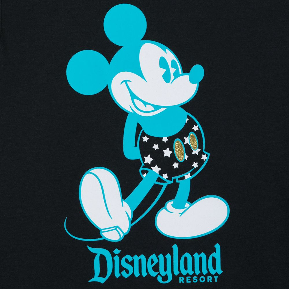 Mickey Mouse Wing Sleeve T-Shirt for Girls – Disneyland
