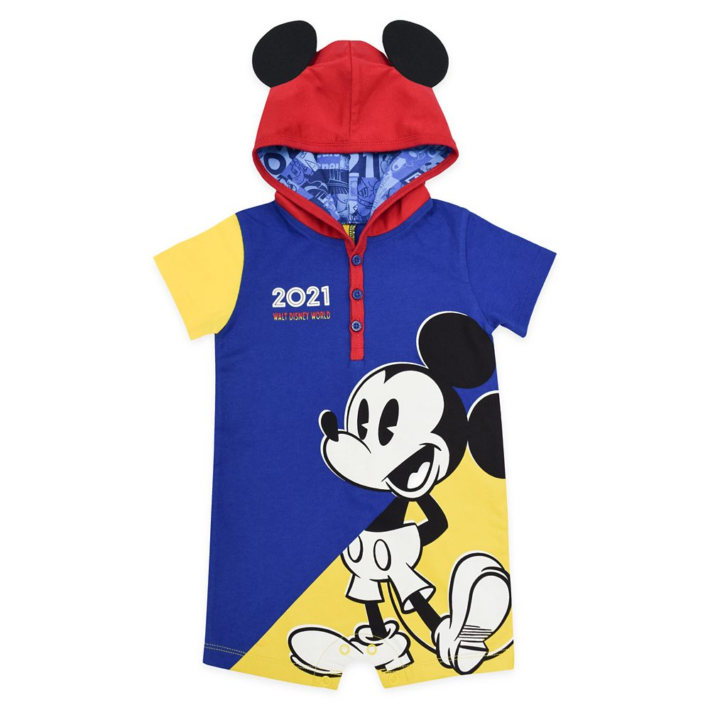 Mickey Mouse Hooded Romper for Baby – Walt Disney World 2021