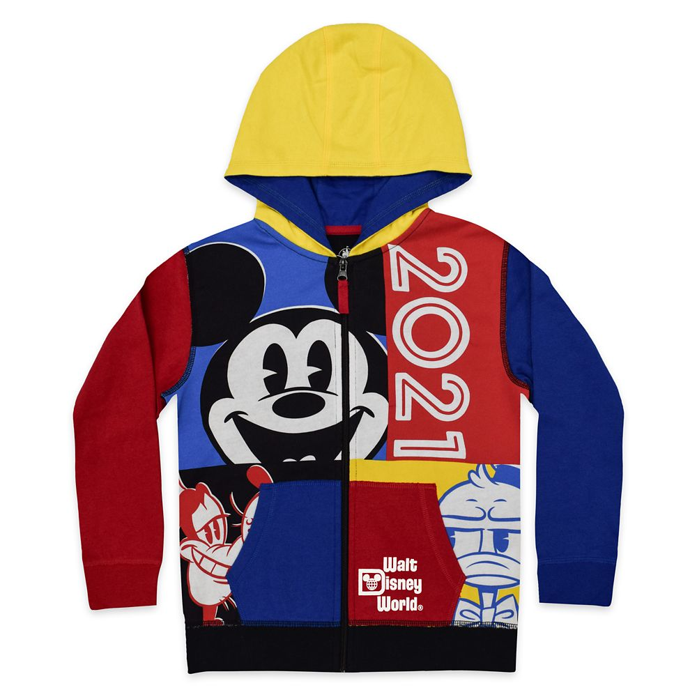 Mickey Mouse and Friends Zip Hoodie for Kids – Walt Disney World 2021