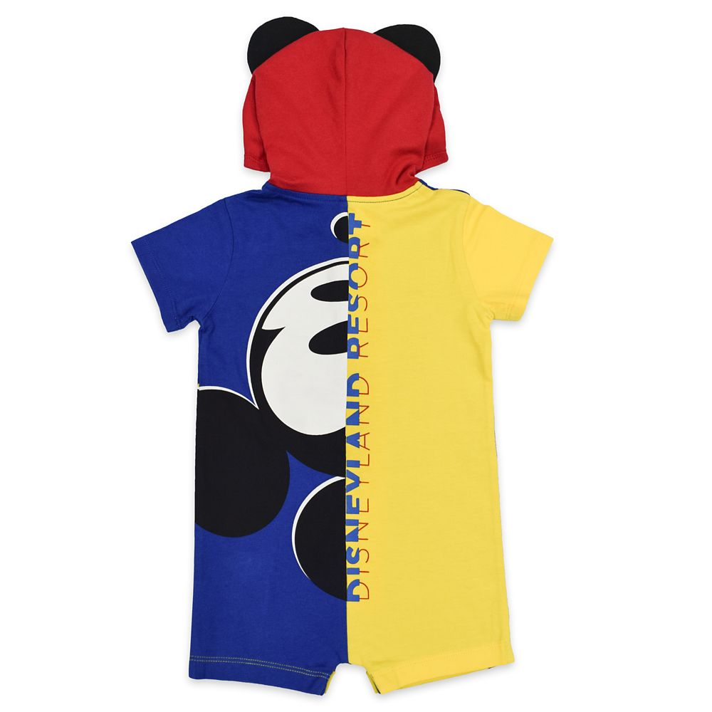 Mickey Mouse Hooded Romper for Baby – Disneyland 2021