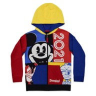 Mickey Mouse and Friends Zip Hoodie for Kids – Disneyland 2021