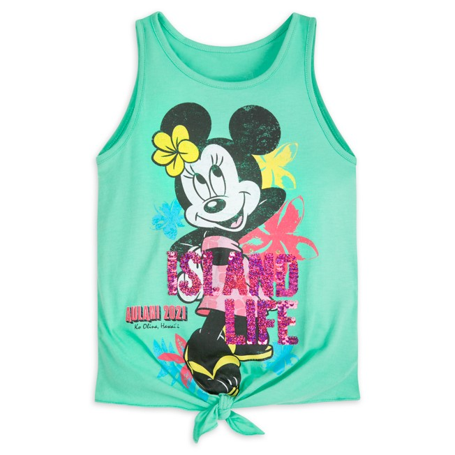 Minnie Mouse Reversible Sequin Tank Top for Girls – Aulani, A Disney Resort & Spa