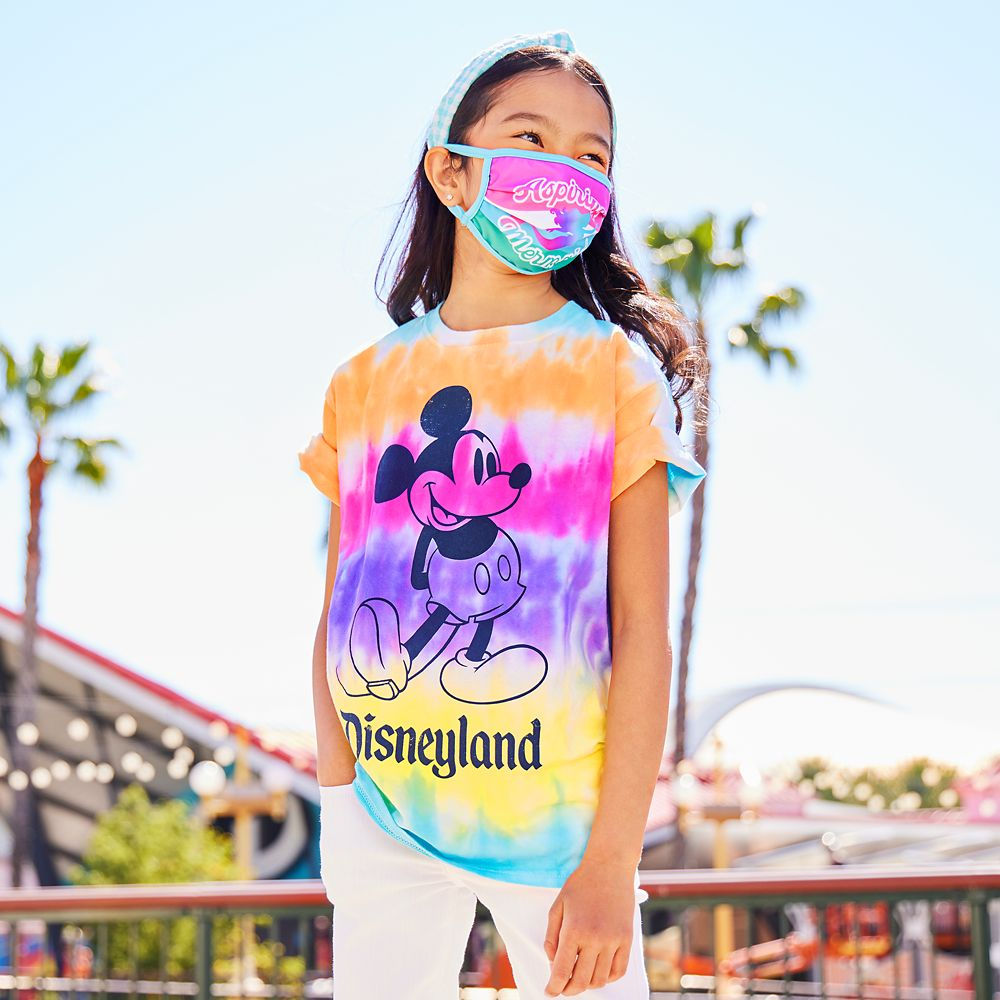 Mickey Mouse Tie-Dye T-Shirt for Kids – Disneyland