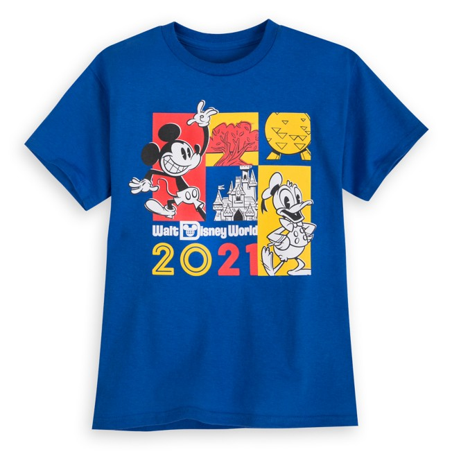 Mickey Mouse and Donald Duck T-Shirt for Kids – Walt Disney World 2021