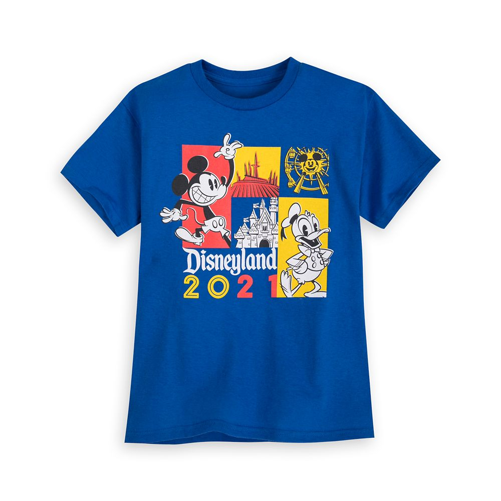 Mickey Mouse and Donald Duck T-Shirt for Kids – Disneyland 2021